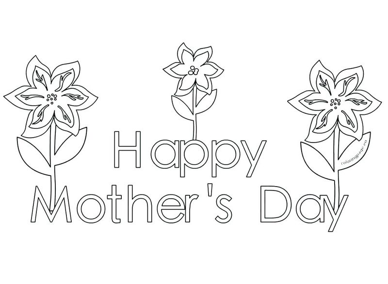 Mothers Day Coloring Pages For Nana