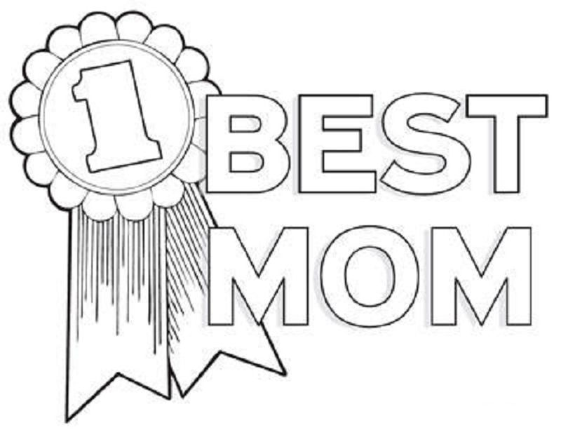 Mothers Day Coloring Pages Free Printable