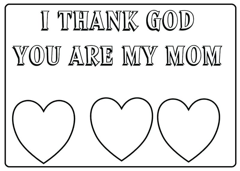 Mothers Day Coloring Pages Quotes
