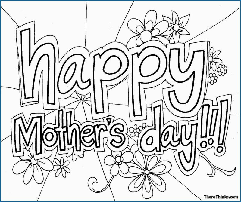 Mothers Day Colouring Pages Australia