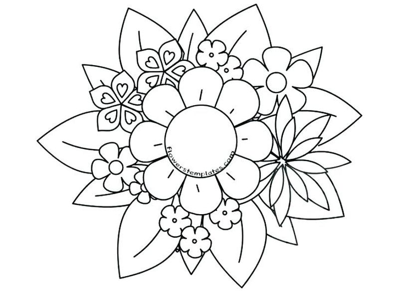 Mothers Day Printable Coloring Page
