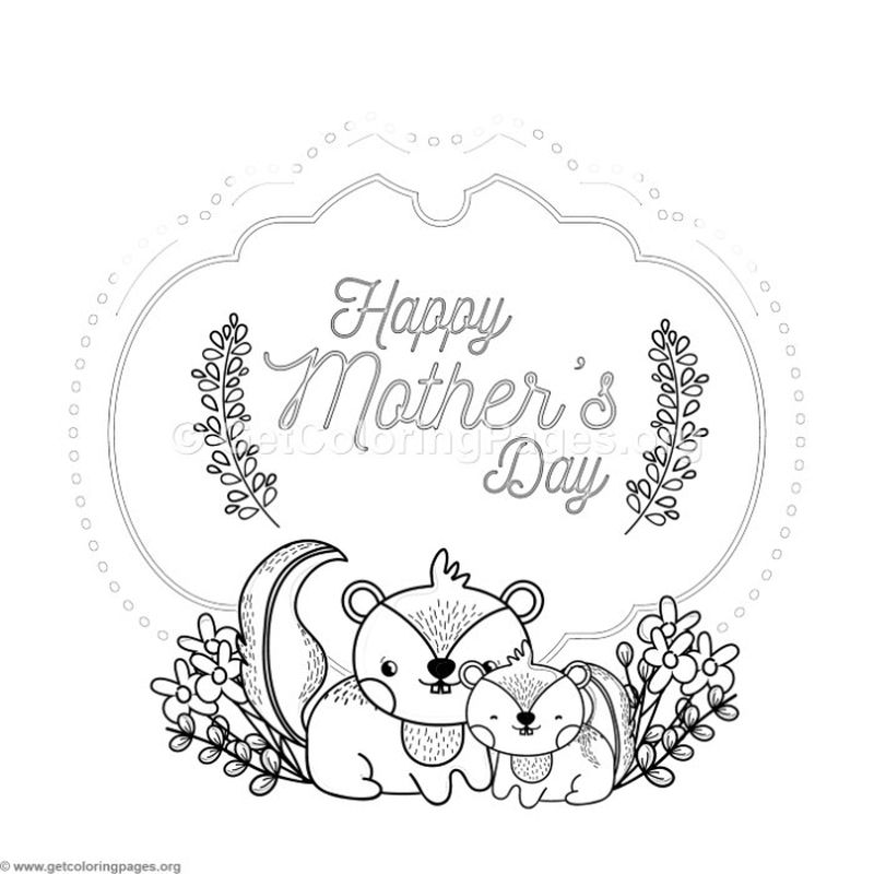 Mothers Day Printable Coloring Pages For Grandma