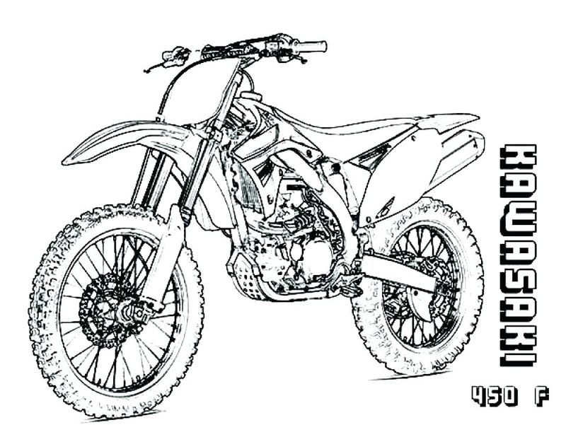 Motorcycle Coloring Pages For Toddlers