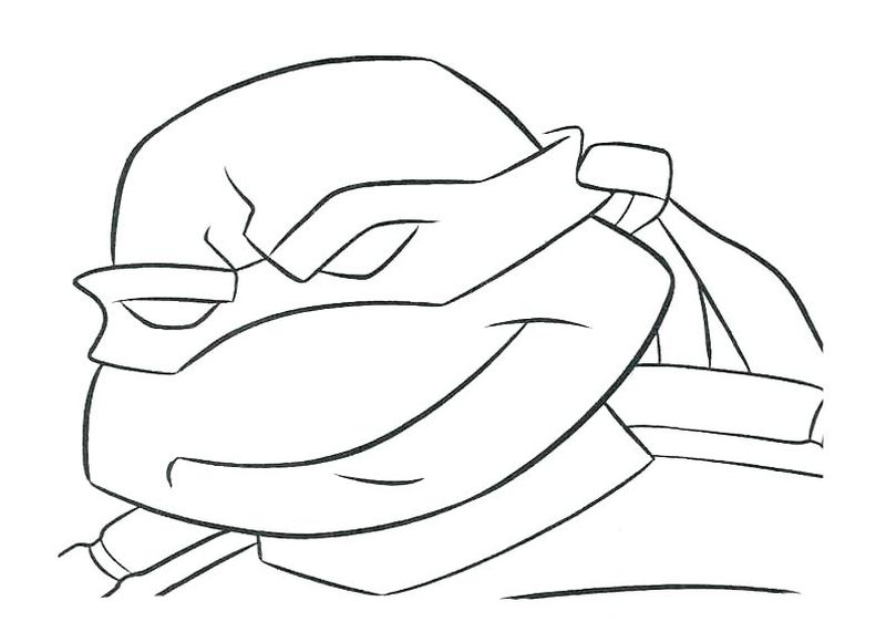 Mutant Ninja Turtle Coloring Pages
