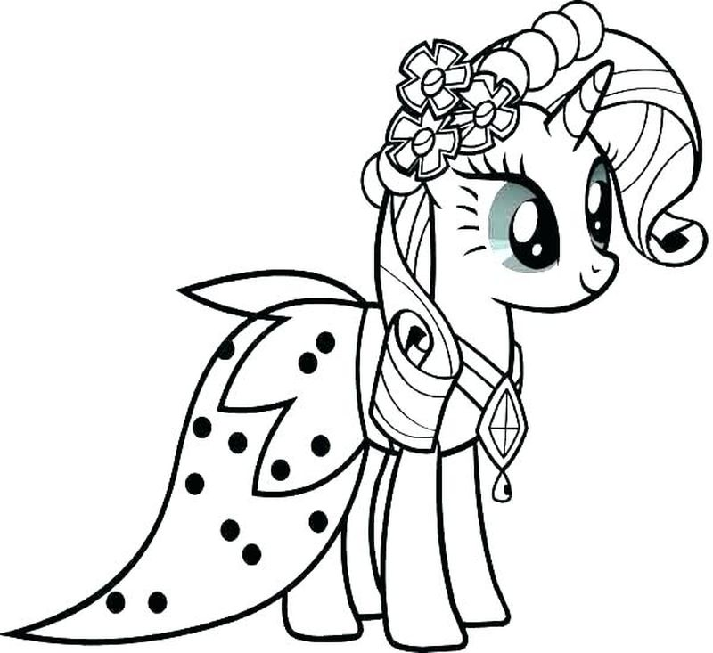My Little Pony And Friends Coloring Pages