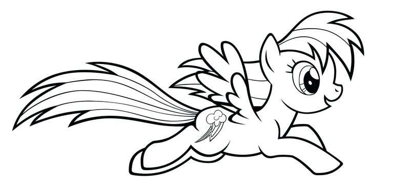 My Little Pony Babies Coloring Pages