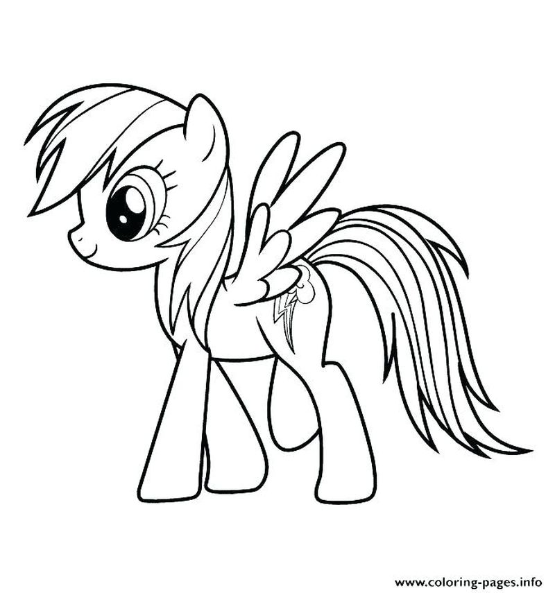 My Little Pony Butterfly Coloring Pages