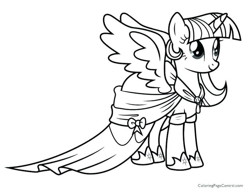 My Little Pony Characters Coloring Pages