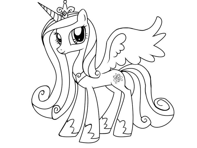My Little Pony Coloring Book Pages Applejack