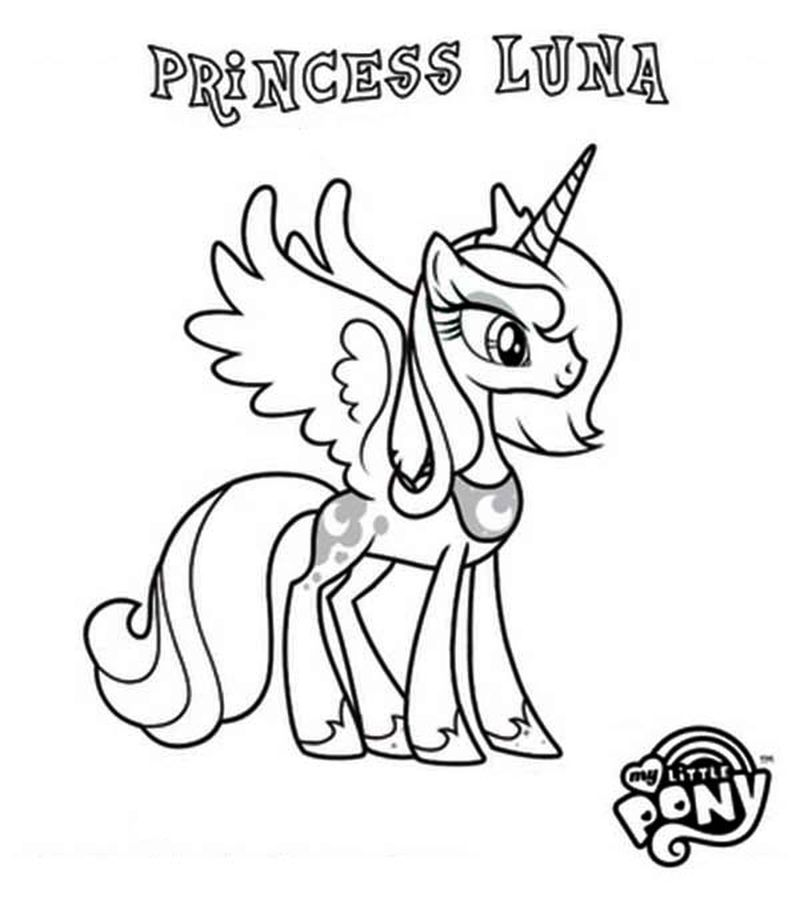 My Little Pony Coloring Pages All