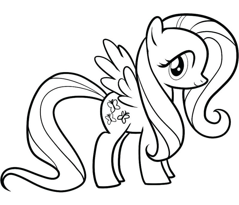 My Little Pony Coloring Pages Book