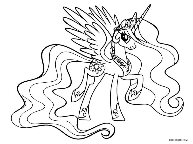 My Little Pony Coloring Pages Collection
