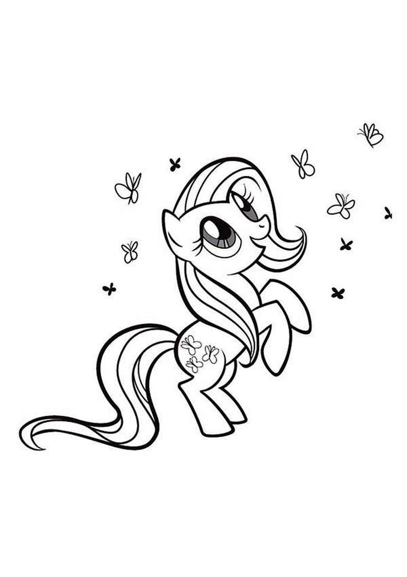 My Little Pony Coloring Pages Diamond Tiara
