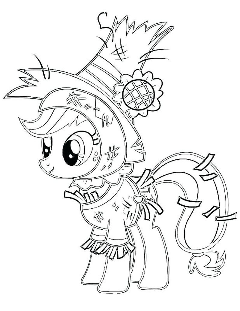 My Little Pony Coloring Pages Easy