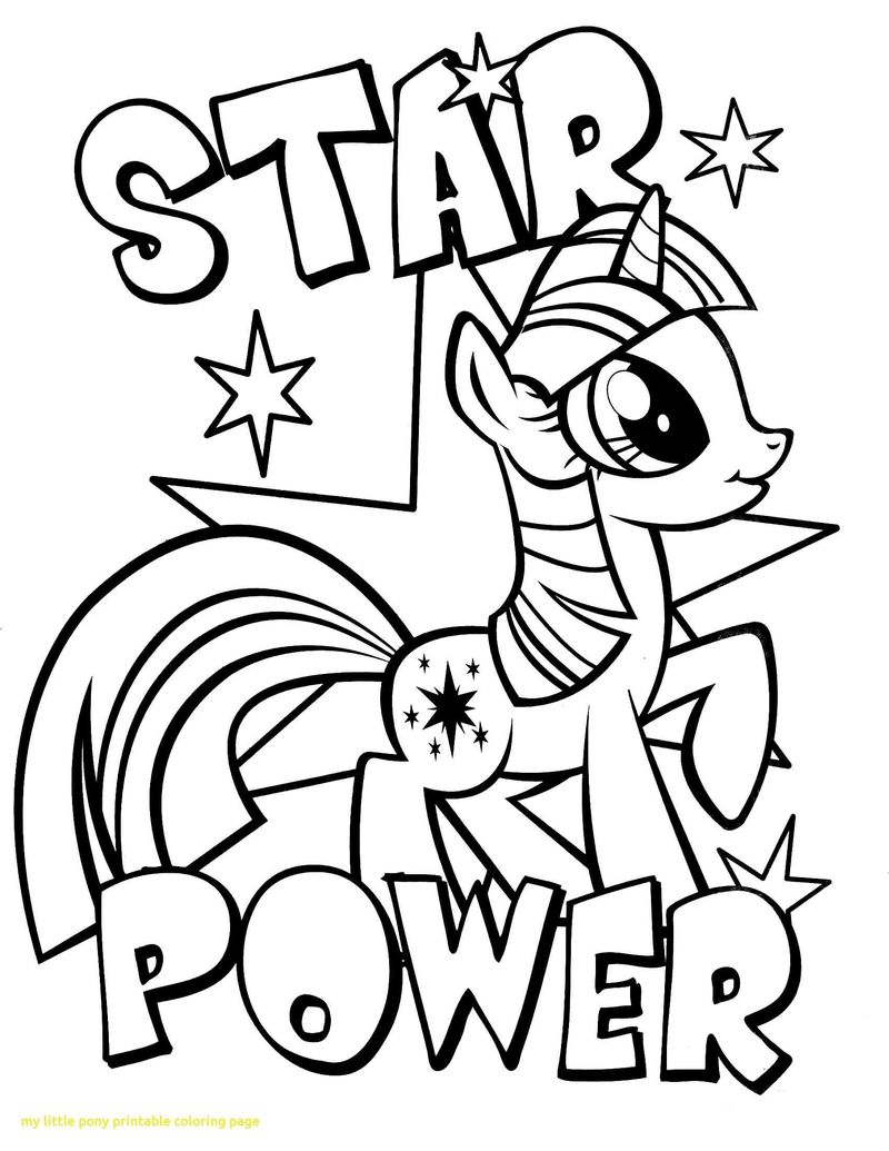 My Little Pony Coloring Pages Free Download