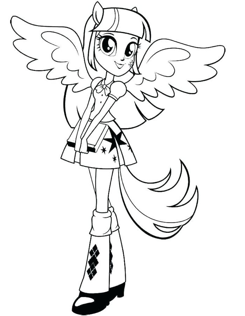 My Little Pony Coloring Pages Pdf
