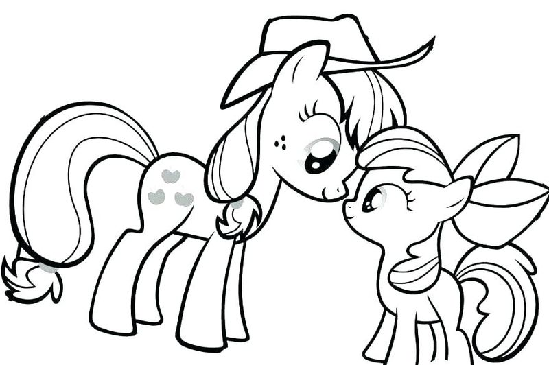 My Little Pony Coloring Pages.Com