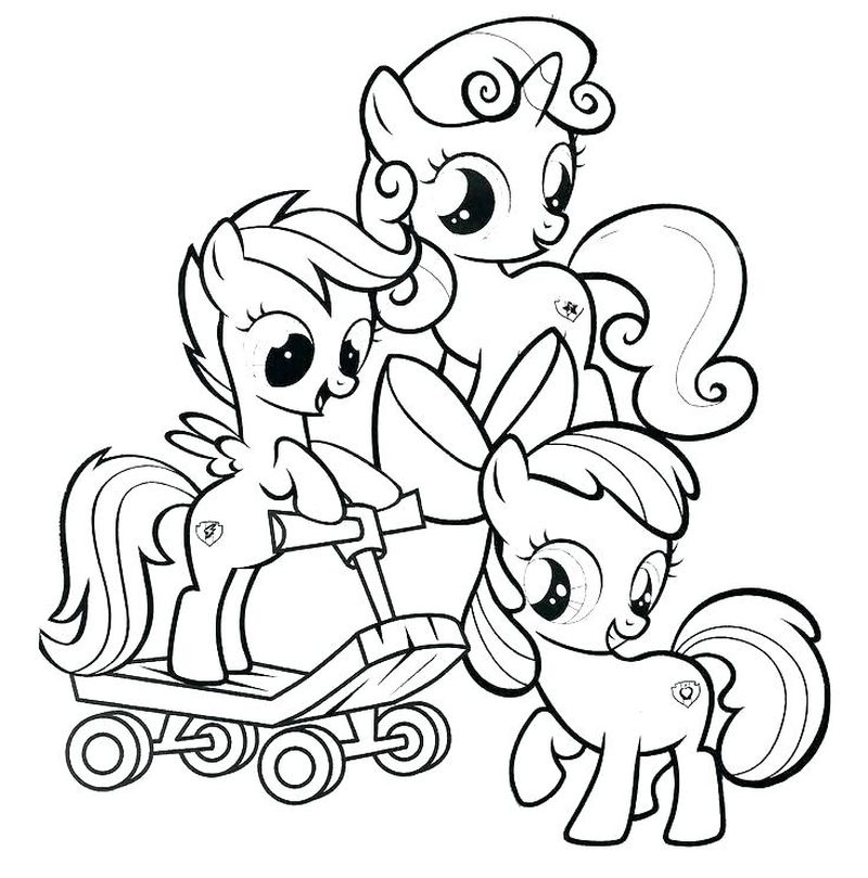 My Little Pony Crystal Empire Coloring Pages