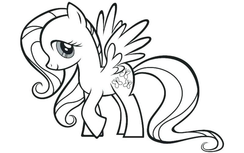 My Little Pony Cupcake Coloring Pages
