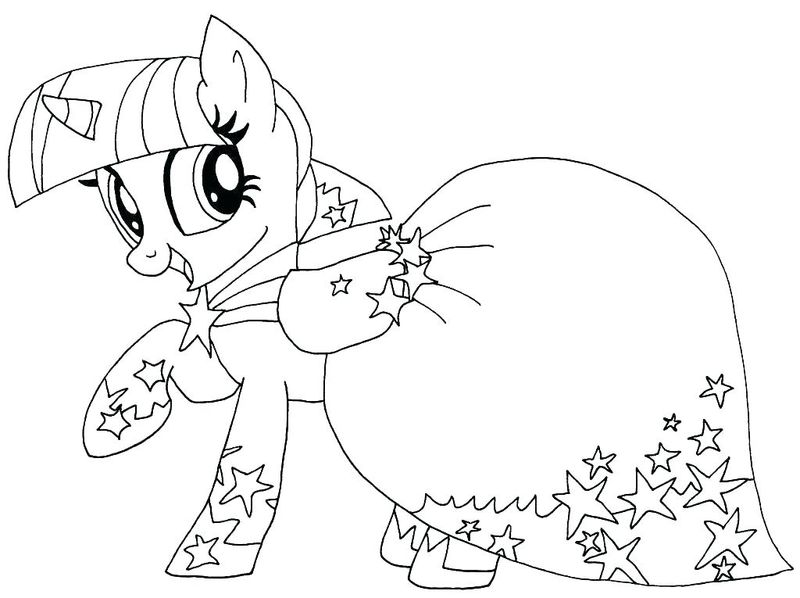 My Little Pony Cutie Mark Coloring Pages