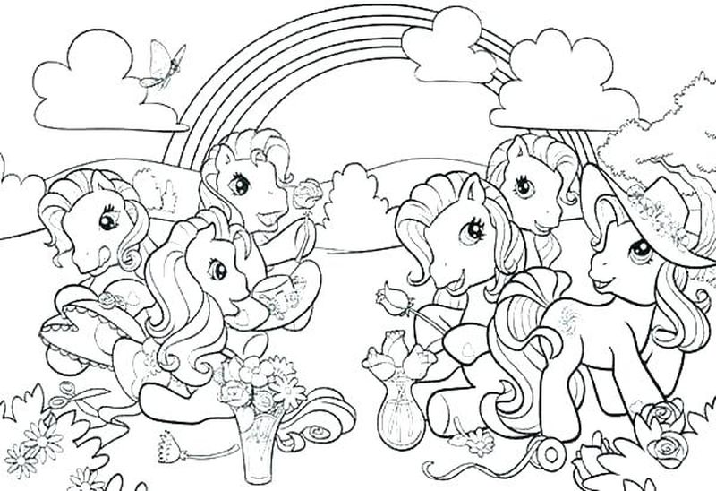 My Little Pony Cutie Marks Coloring Pages