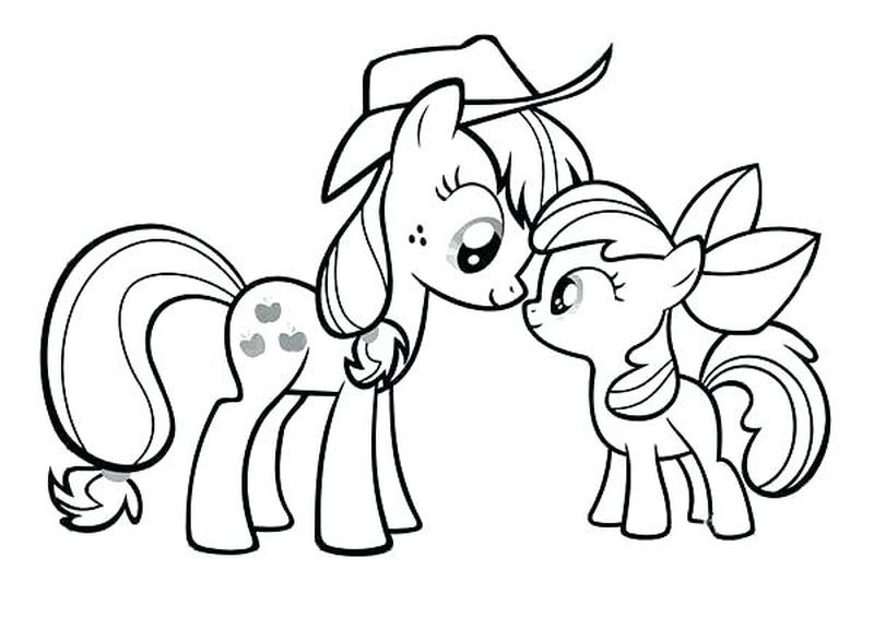 My Little Pony Daring Do Coloring Pages