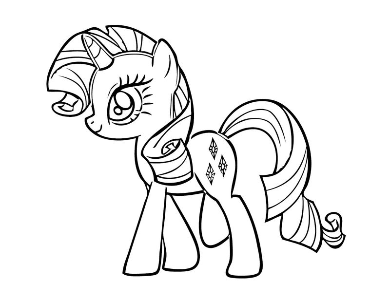 My Little Pony Diy Coloring Pages