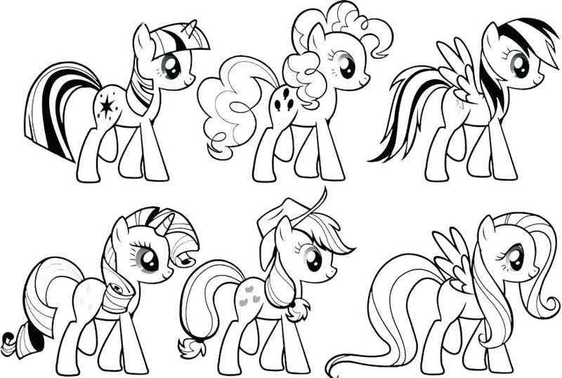 My Little Pony Dragon Coloring Pages