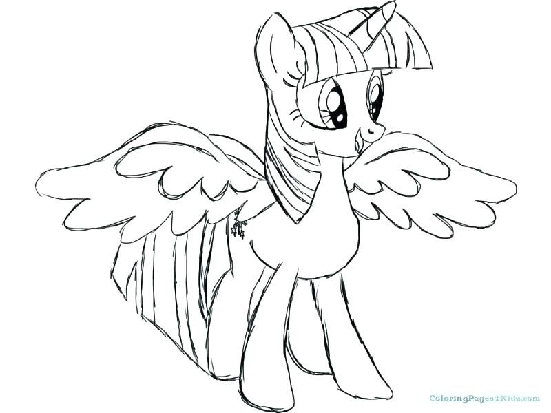 My Little Pony Eg Coloring Pages