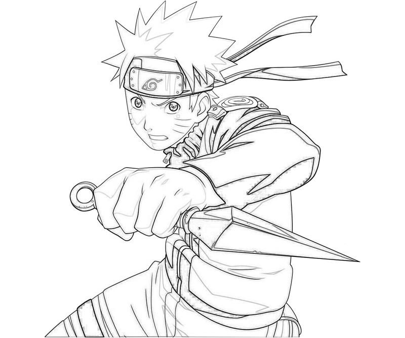 Naruto Coloring Pages Games