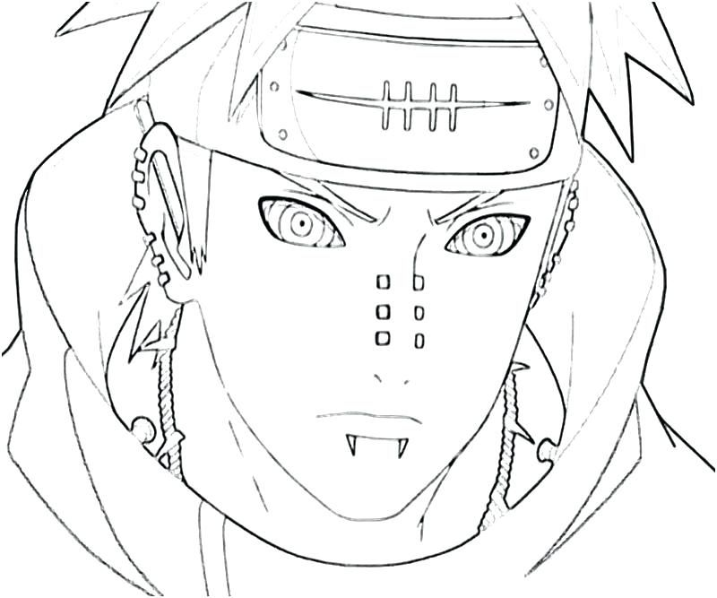 Naruto Coloring Pages Hd