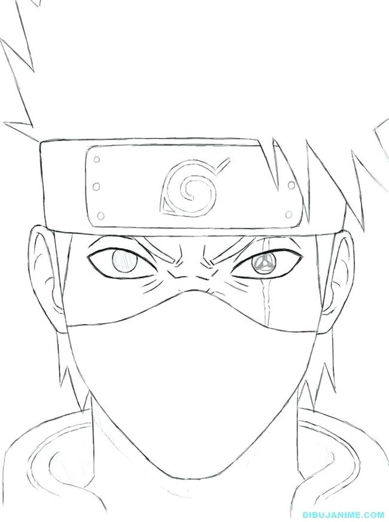 Naruto Coloring Pages To Print Free