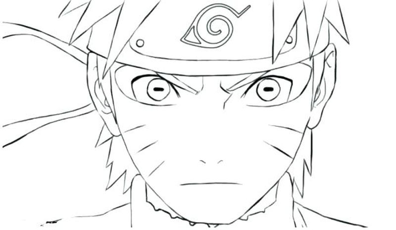 Naruto Nine Tailed Fox Coloring Pages