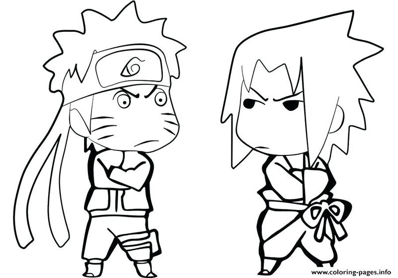 Naruto Online Coloring Pages