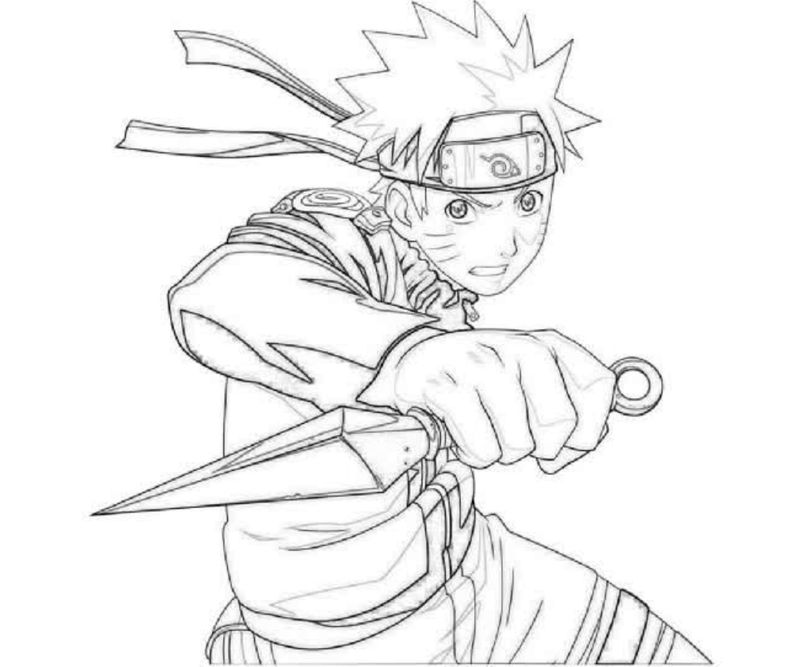 Naruto Shippuden Coloring Pages Games