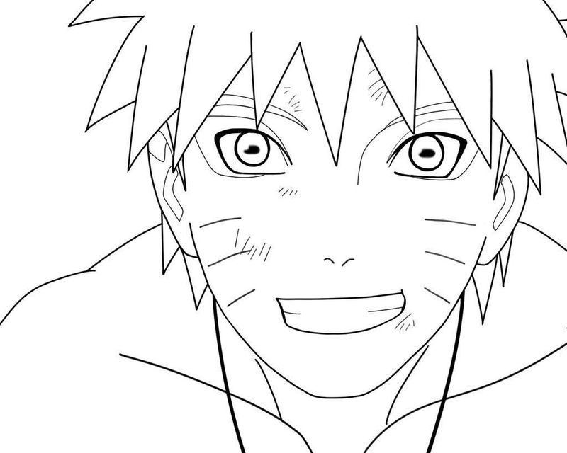 Naruto Shippuden Coloring Pages Online