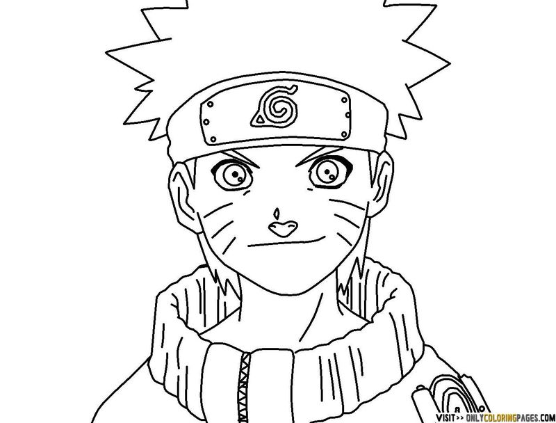 Naruto Shippuden Printable Coloring Pages