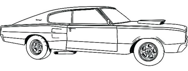 Nascar Car Coloring Pages