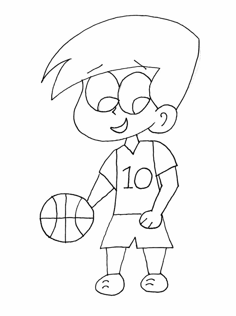 Nba Basketball Players Coloring Pages