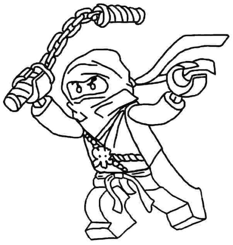 Ninja Turtle Colouring Pages Free