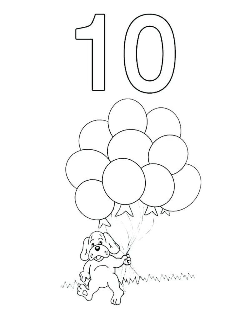 Number Coloring Pages 1 100