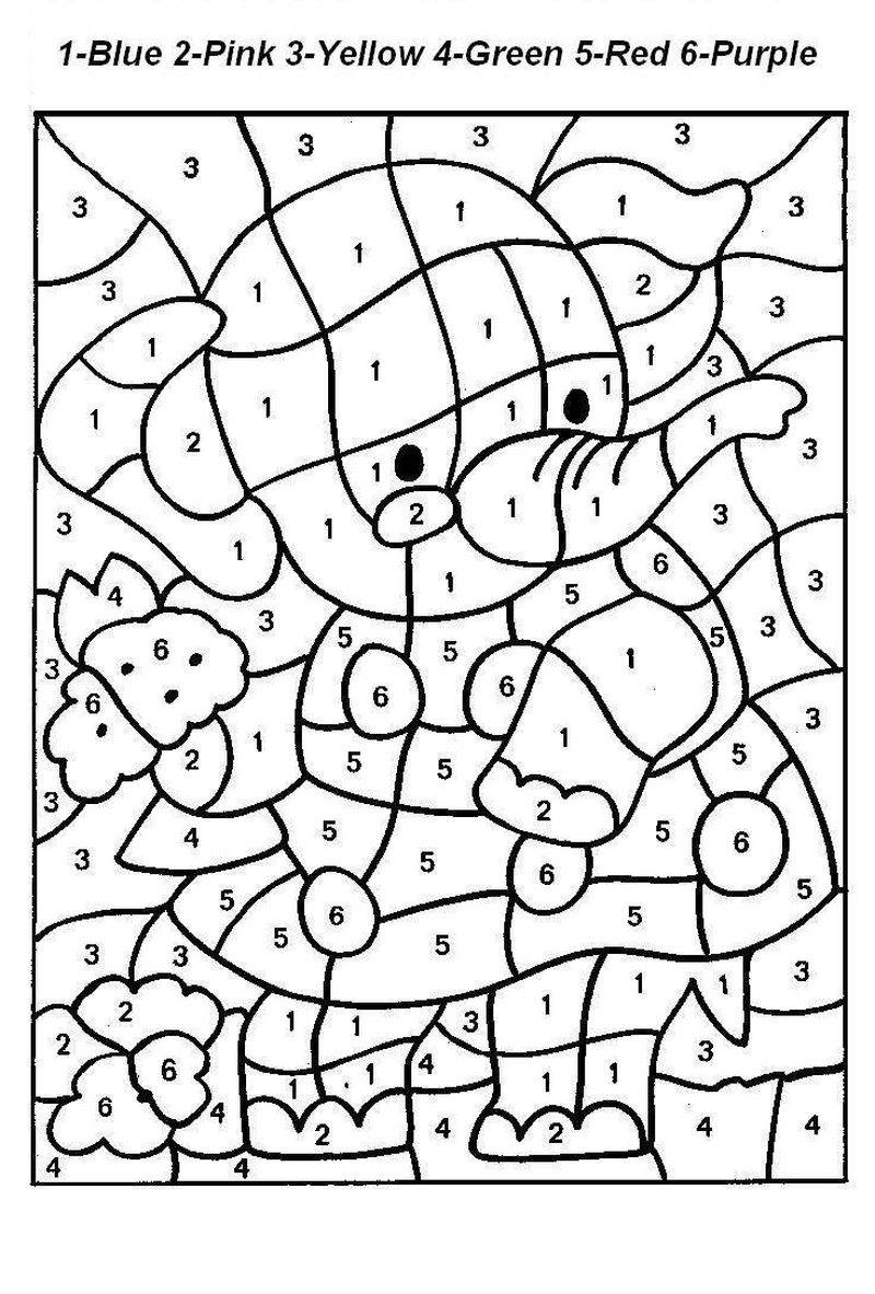 Number Coloring Pages 11 20