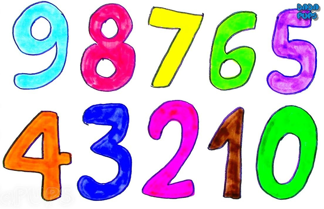 Number Coloring Pages Halloween
