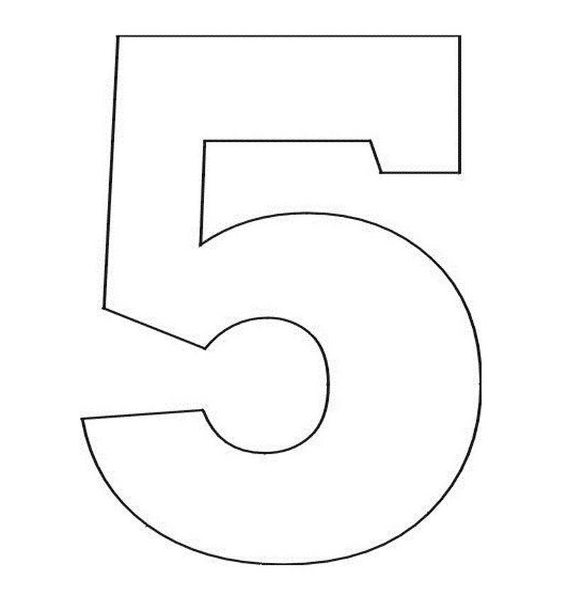 Number Coloring Pages Online