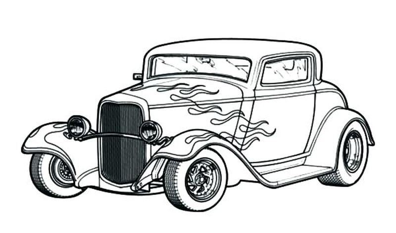 Online Car Coloring Pages