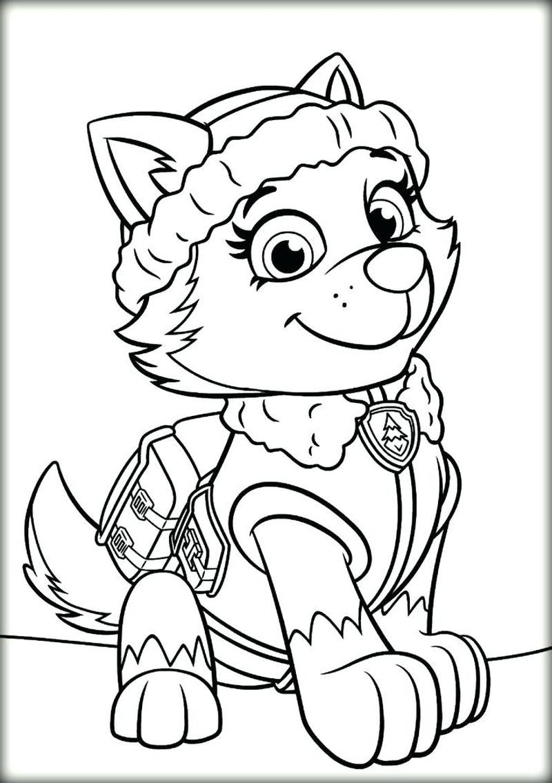 Paw Patrol Abc Coloring Pages