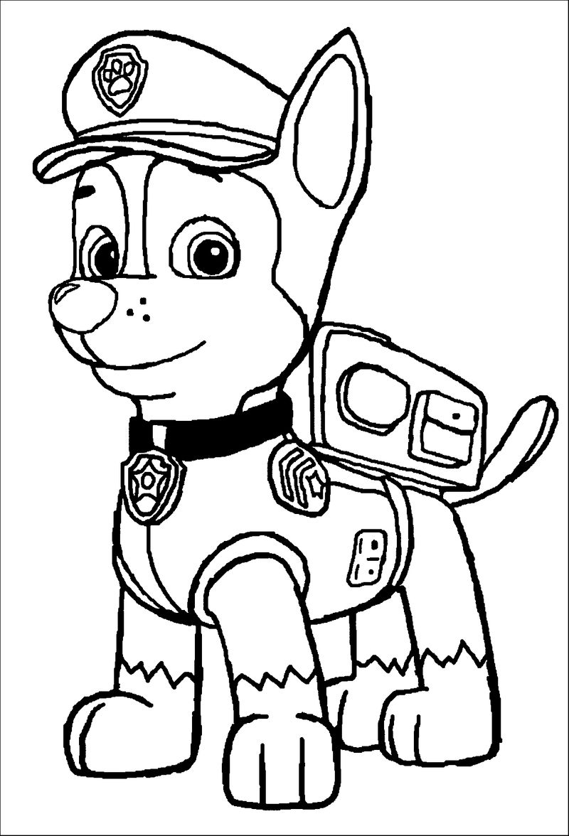 Paw Patrol Big Coloring Pages