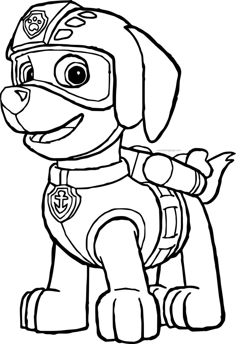 Paw Patrol Coloring Pages Crayola