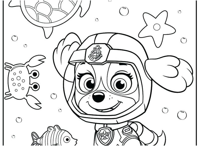 Paw Patrol Coloring Pages Free Download