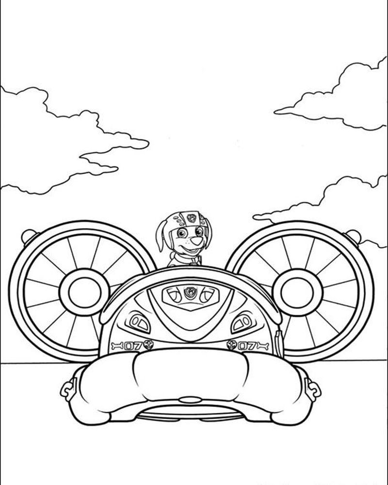 Paw Patrol Coloring Pages Free To Print